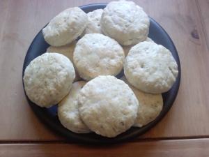 Feta mini scones 25.10.09
