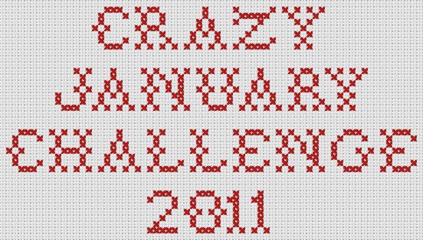Stitching - Crazy January Challenge 2011
