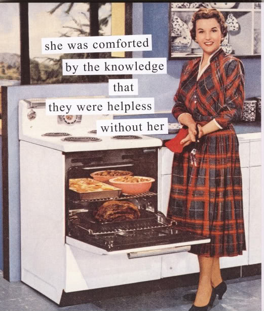 The Domestic Goddess Goes All-Out... (2/2)