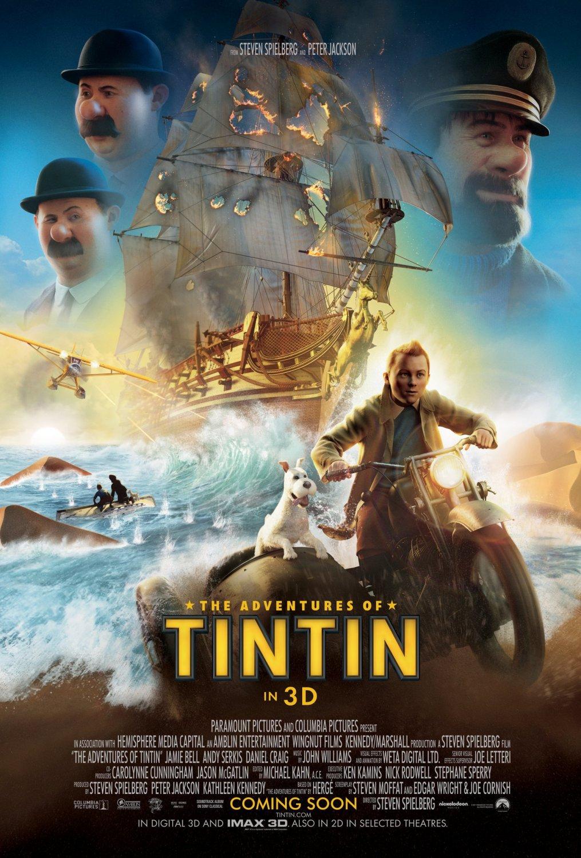 Movie the adventures of tintin the secret of the unicorn